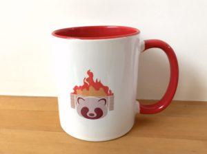 ラクスルのツートーンカラー陶器オリジナルマグカップ(M)